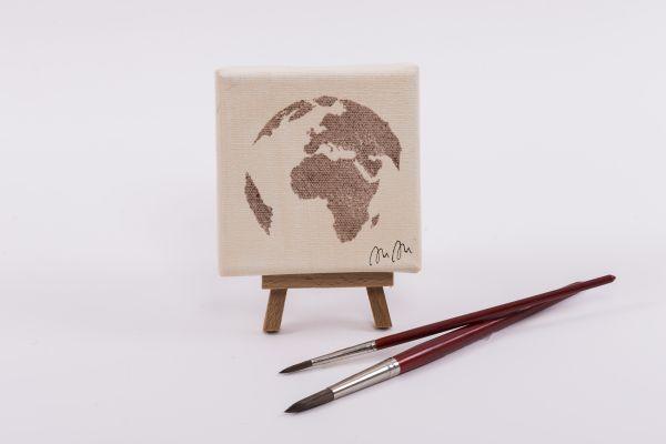 """Kolping-Kunst im Quadrat – Motiv """"Eine Welt"""""""