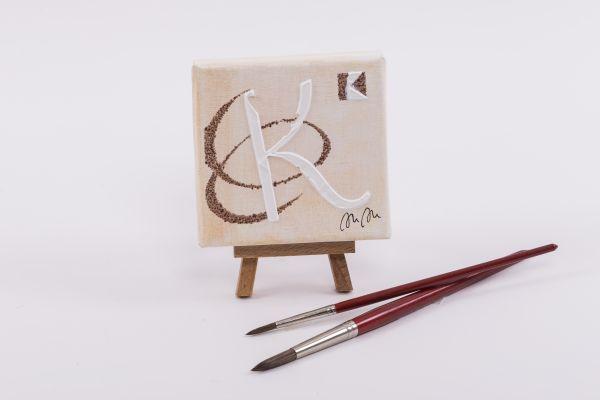 """Kolping-Kunst im Quadrat – Motiv """"Kolping-K"""""""
