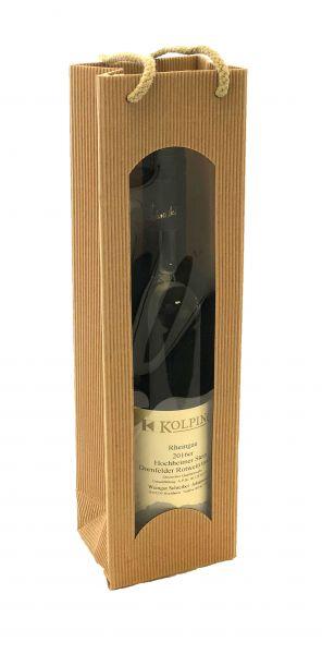 Präsentverpackung für Weinflasche