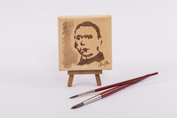 "Kolping-Kunst im Quadrat – Motiv ""Portrait A.Kolping."""