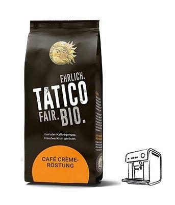 Tatico Classico Cafe Creme Röstung, 500g ganze Bohne