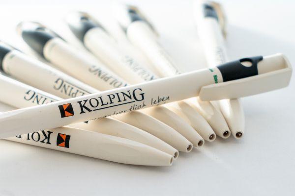 """20-er Set Öko-Kulis """"KOLPING – verantwortlich leben, solidarisch handeln"""""""