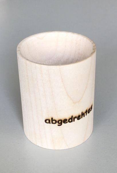 Eierbecher Handgemacht aus Echtholz